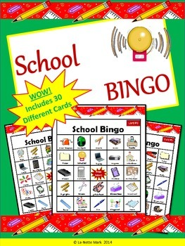 Back to School - School Bingo