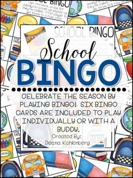 School Bingo