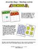 School Bingo Matching Activity Set