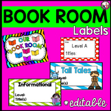 School Book Room! Labels for bins and MORE!!!  Make-over!