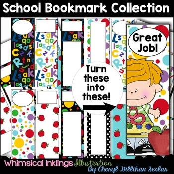 School Bookmark Clipart