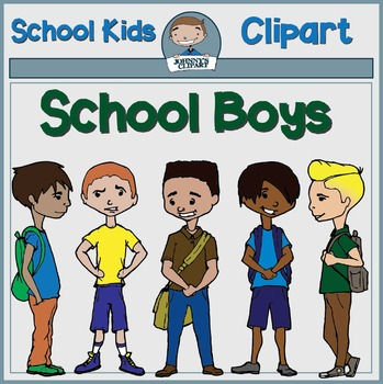 School Boys Clipart