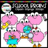 School Brains Clipart