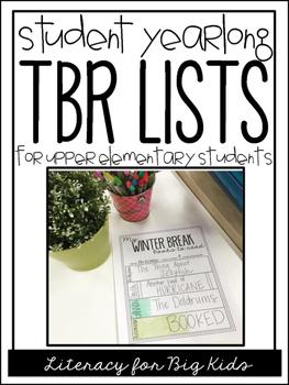 School Break Books to Read (or TBR) Lists