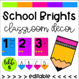 School Brights Classroom Decor