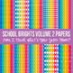 School Brights Mega Digital Paper Pack Volume 2