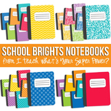 School Brights Notebook Set
