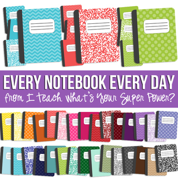 Every Day Every Notebook Set