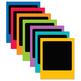 School Brights Photo Frames Set