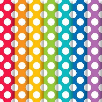 School Brights Polka Dot Paper Pack