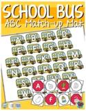 School Bus ABC Match-up Mat