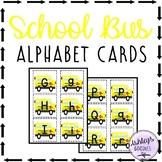 School Bus Alphabet Cards