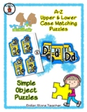 School Bus - Alphabet / Letter Puzzles - Simple Objects