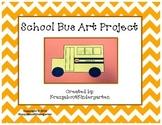 School Bus Art Project