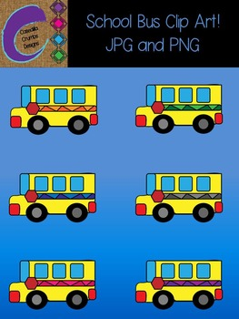 School Bus Clip Art Color Images Designs