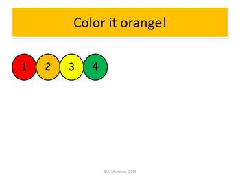 School Bus Count and Color - Watch, Think, Color! CCSS.K.CC.B.4