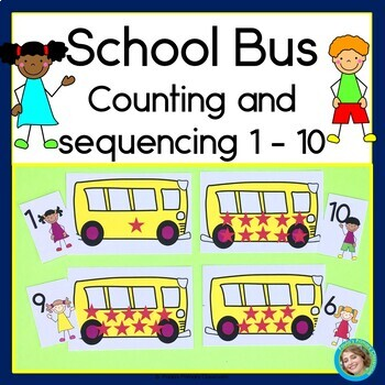 School Bus Counting and Sequencing