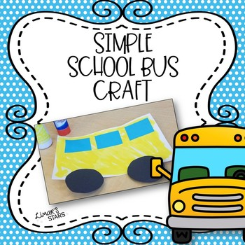 School Bus Craft {FREEBIE}