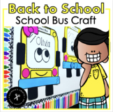 School Bus Craft / Name Craftivity