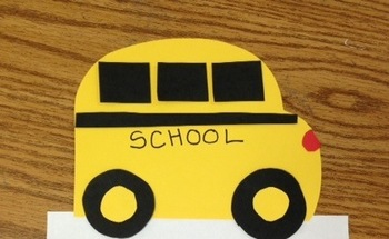 School Bus Safety Craft ( A Back to School Craftivity)
