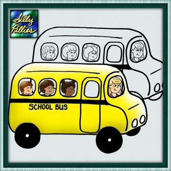School Bus FREEBIE