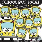{$1 FLASH Deal BTSBonus19} School Bus Faces Clipart