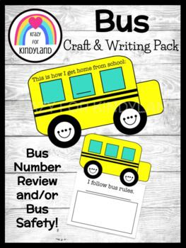 Bus Craft and Writing (Back to School)