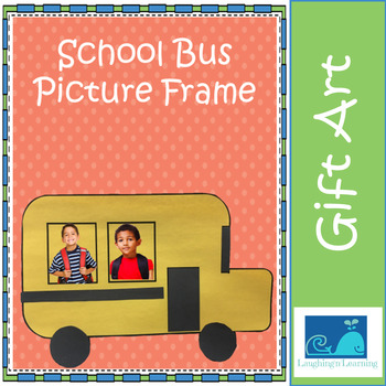Wheels on the Bus Picture Frame