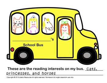 School Bus Reading Interests Report