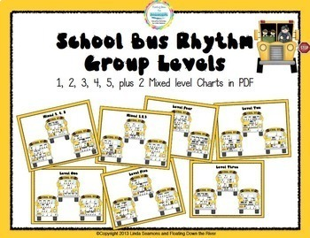 School Bus Rhythms for Fun, Review, and Assessment #BTSmusiccrew