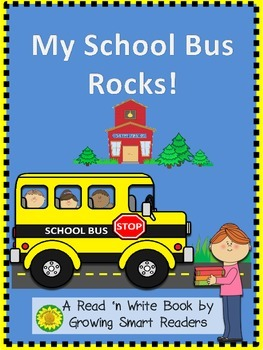 Read and Write My School Bus Rocks