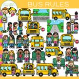School Bus Rules Clip Art