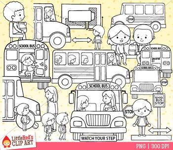 School Bus Safety Clip Art