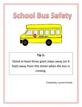 School Bus Safety Packet