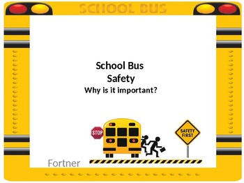 School Bus Safety Rules