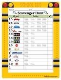 School Bus Scavenger Hunt- Field Trip