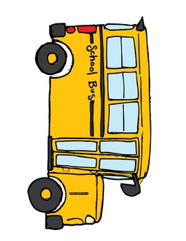 School Bus Sight Word Scavenger Hunt
