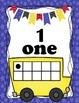 School Bus Ten Frames Number Posters 0-20