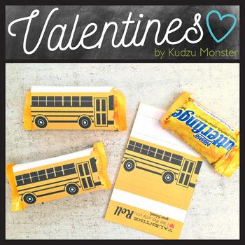School Bus Valentine