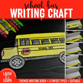 School Bus Writing Craft