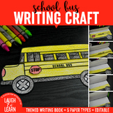 School Bus Writing Craft