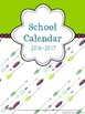 School Calendar 2017-2018: November-January