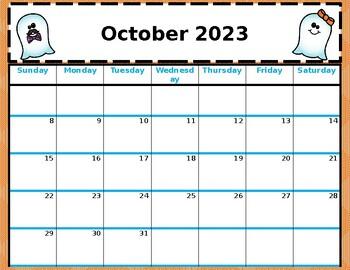 Editable School Calendar 2018-2019 Free Updates