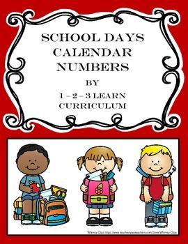 School Calendar Numbers