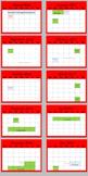 School Calendar Poster (Red)