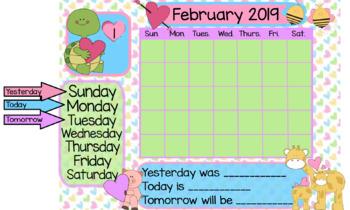 School Calendars for ActivInspire