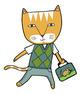 School Cats FREE Clip Art