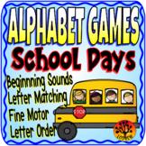 School Centers Alphabet Games Literacy Centers School Activities