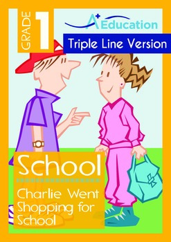 School - Charlie Went Shopping for School (with 'Triple-Tr