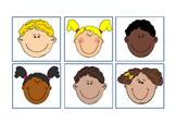 School Children Faces Happy Bulletin Board Idea 30 Differe
